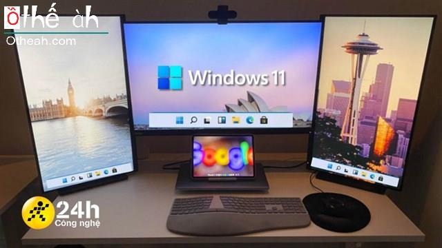 Cách hiển thị thanh Taskbar trên nhiều màn hình với Windows 11, để bạn dễ thao tác hơn khi sử dụng